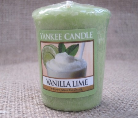 Vanilla Lime smeltelys.