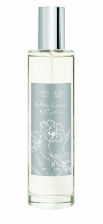 White Linen & Cotton Room Spray.