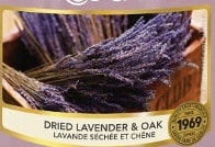 Dried Lavender & Oak