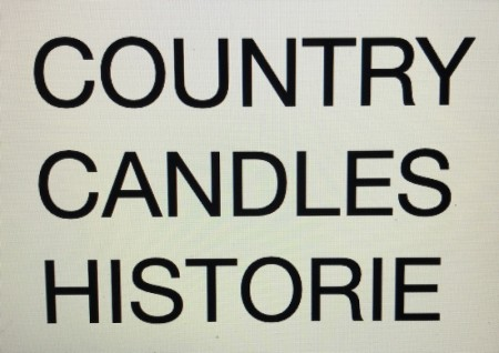 Country Candles Historie