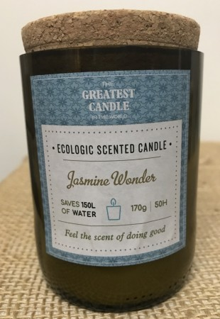 Eco Glass Bottle Jasmine Wonder